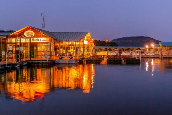 Photo: Fairfield Bay Marina Night